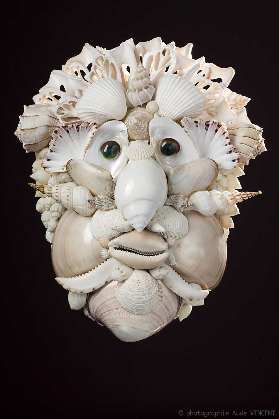 Photographie d'objet de décoration à partir de coquillages