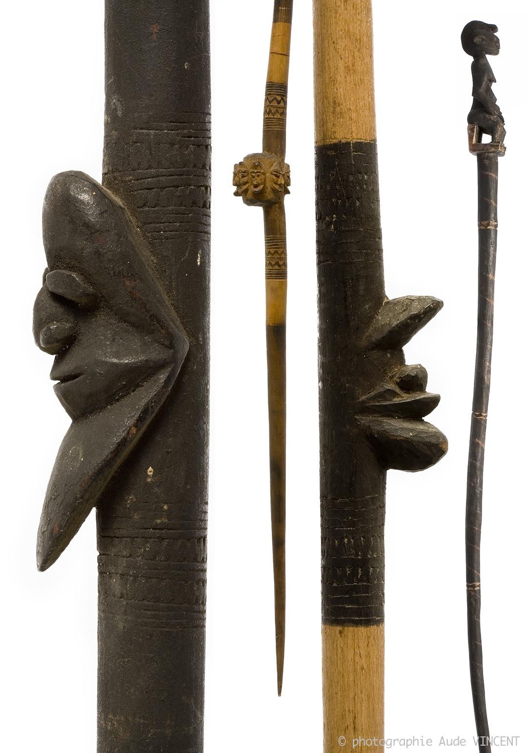 Photographie de la collection d'Art premier du Musée d'art et d'histoire de pithiviers