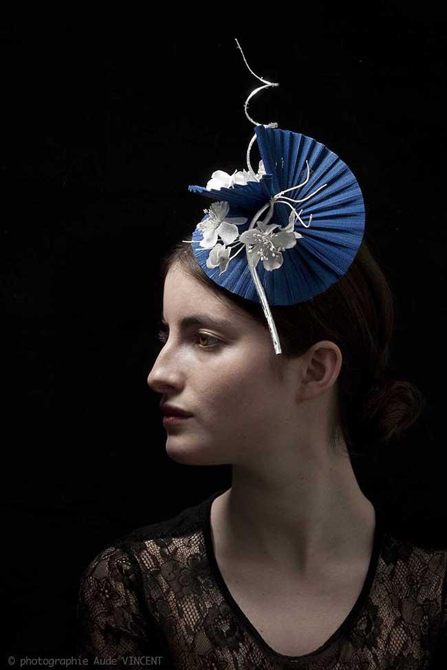 Photographie du chapeau Kobé créé par Marika Chapka