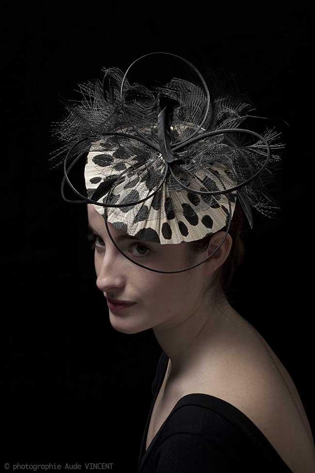 Photographie du chapeau Harare créé par Marika Chapka