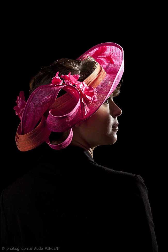 Photographie du chapeau Zadar créé par Marika Chapka