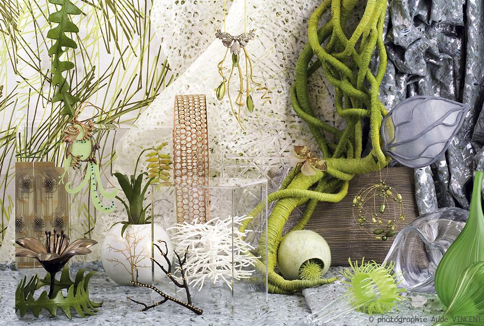 Photographie d'une Nature Morte de tendances pour les industriels de la joaillerie thème Utopia.