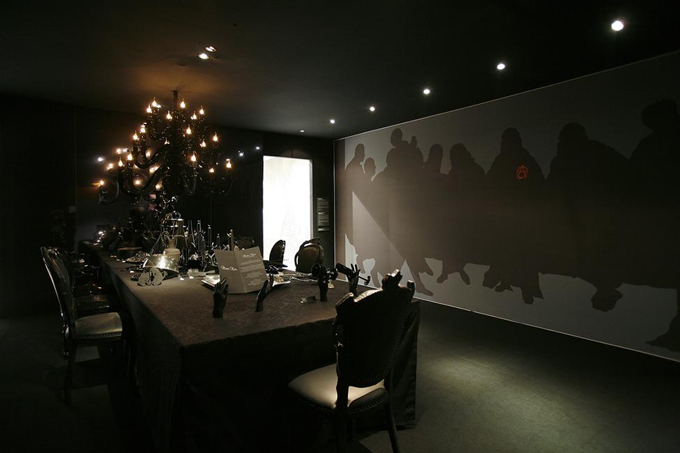Photographie illustrant les tendances et inspirations pour l'univers de la maison réalisée par Aude Vincent pour Elizabeth Leriche sur l'espace tendance Festin du salon Maison&Objet, à Paris.