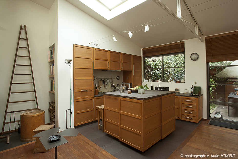 Loft parisien, architecte intérieure Michèle Chauvel, photographié par Aude VINCENT