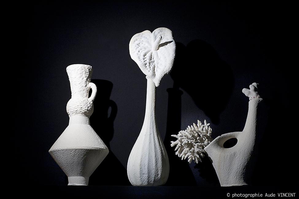NATURE MADE ou « L'émerveillement » de l'artyculteur. Scénographie conçu et réalisée par François Bernard, Agence Croisements, photographiée par Aude VINCENT