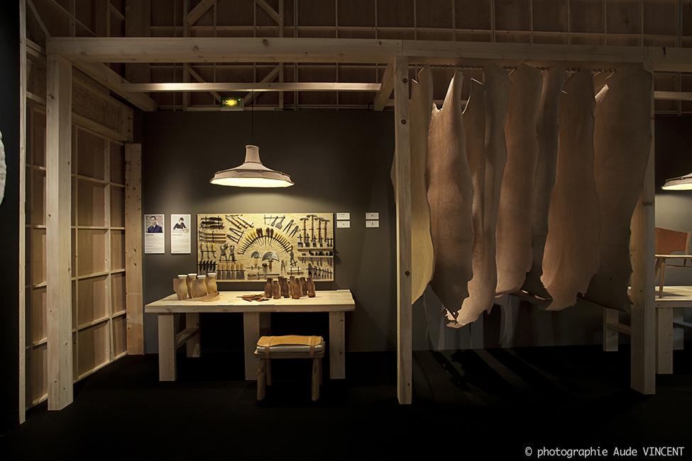 HUMAN MADE, Scénographie conçu et réalisée par Elizabeth Leriche. Photographiée par Aude VINCENT