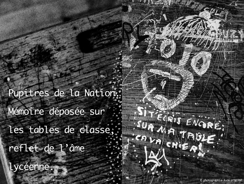 Pupitres de la Nation / The school desks of Nation