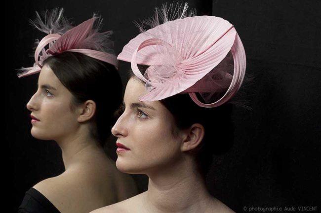 Photographie du chapeau Sacramento créé par Marika Chapka