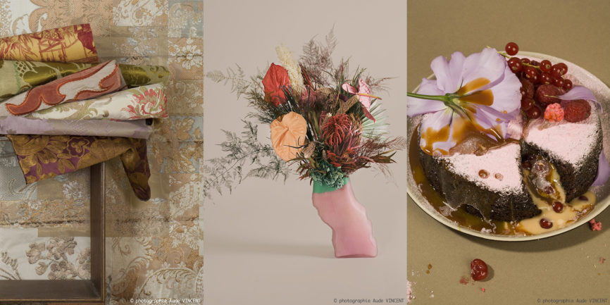 Photographie lifestyle pour les tendances Color Intelligence. Nature morte lifestyle