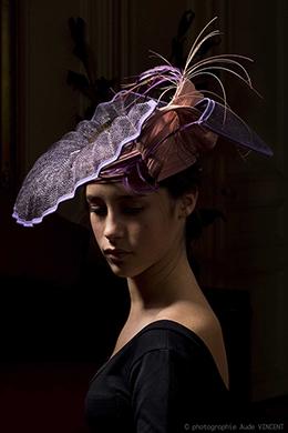 Photographie du chapeau Palerme créé par Marika Chapka