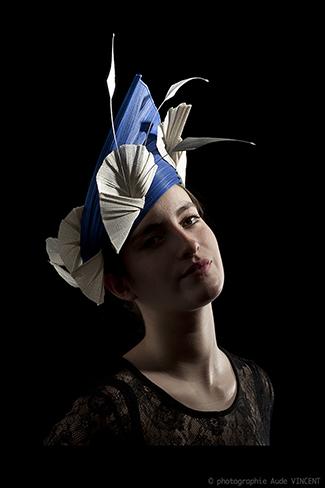 Photographie du chapeau New-York créé par Marika Chapka
