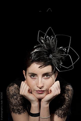 Photographie d'un chapeau créé par Marika Chapka