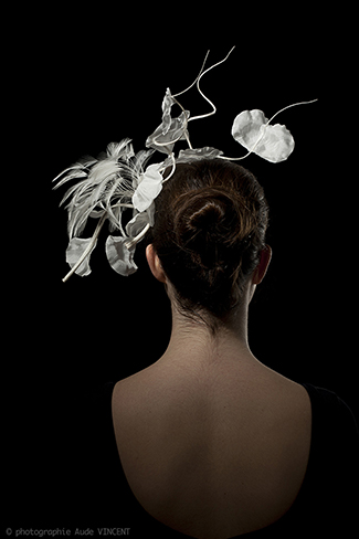 Photographie du chapeau Katmandou créé par Marika Chapka