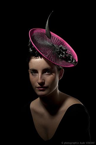 Photographie du chapeau Valparaiso créé par Marika Chapka
