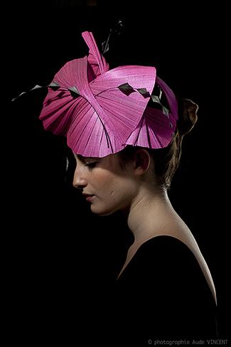 Photographie du chapeau Louxor créé par Marika Chapka