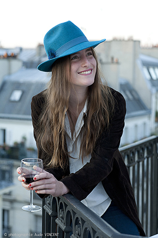 Photographie du chapeau Saint-Germain créé par Marika Chapka