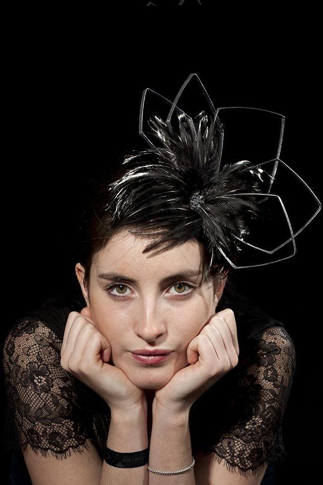 Photographie du chapeau Triestre créé par Marika Chapka